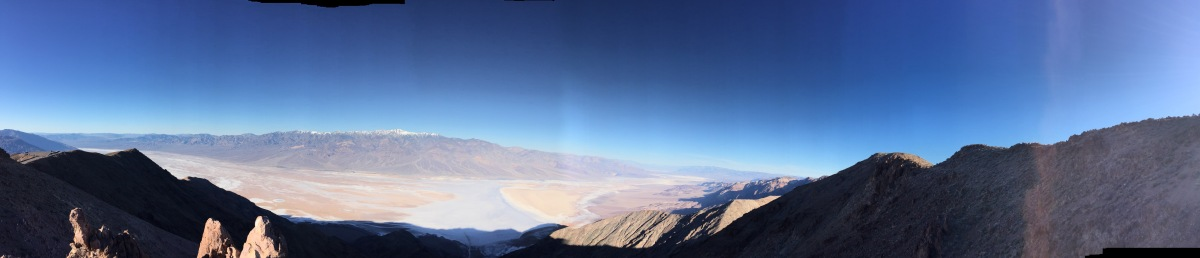 Friday Favorites:  Dantes View in Death Valley NP