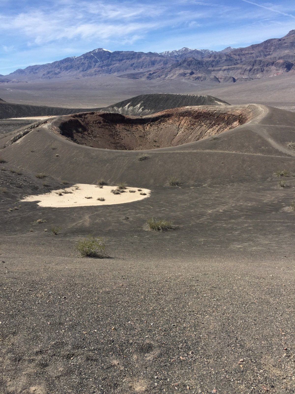 Sunday Hikes:  The Ubehebe Crater Trail