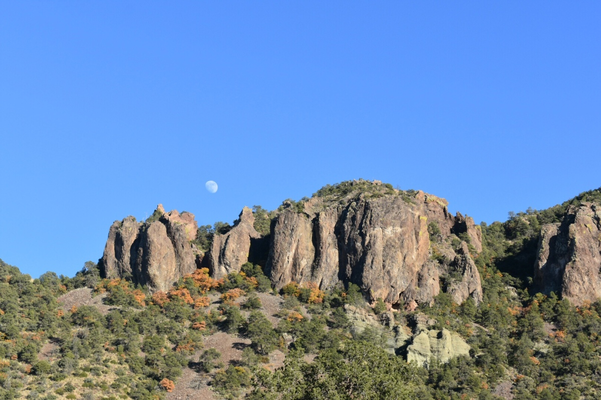 Picture of the Day: Moon over the ChisosBasin