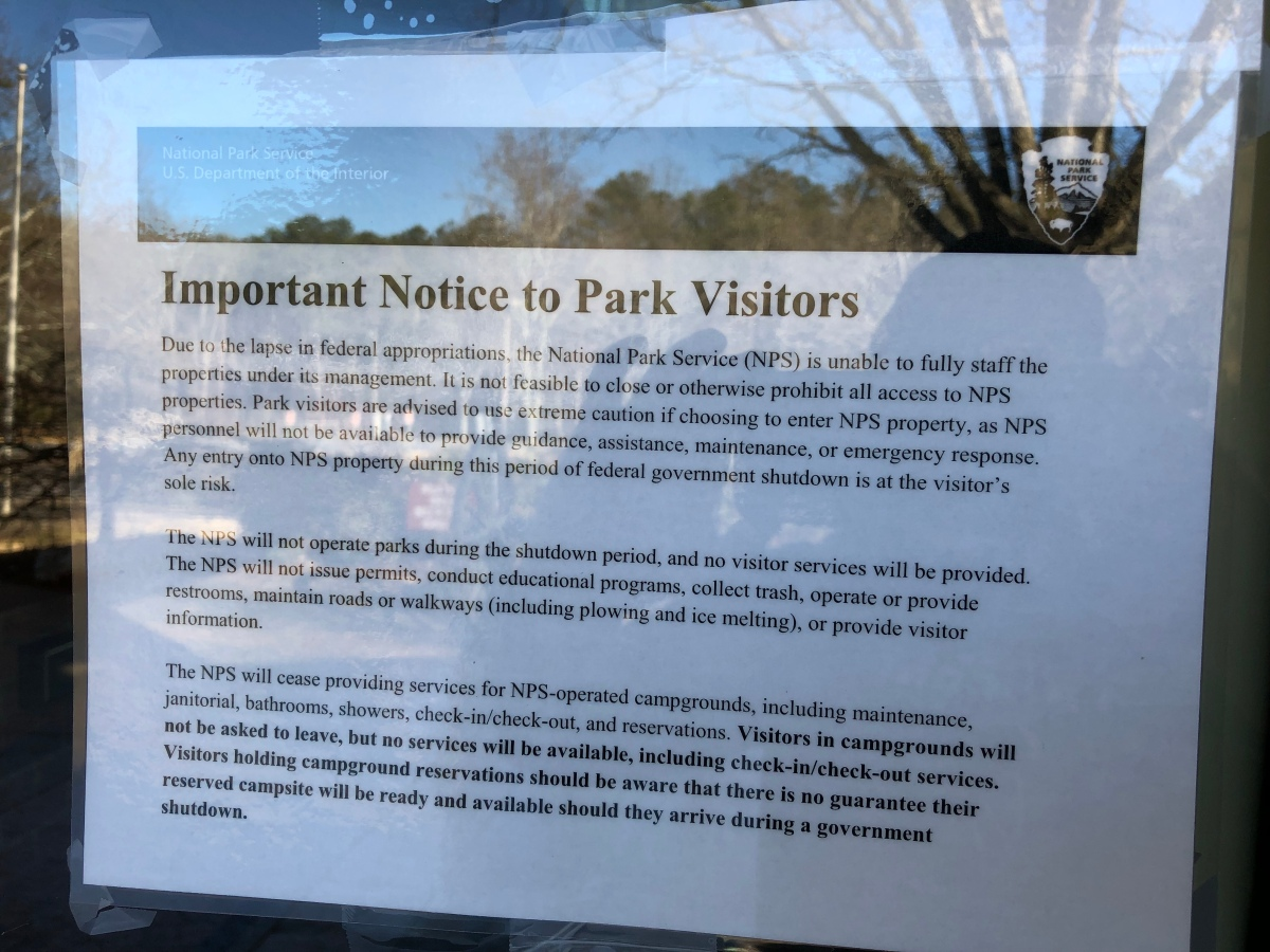 Should I Still Visit a National Park with the Government Shutdown?