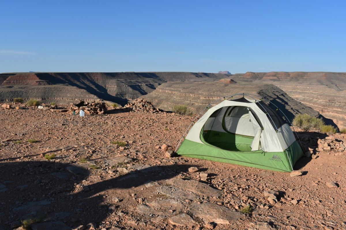 Camping: Goosenecks StatePark
