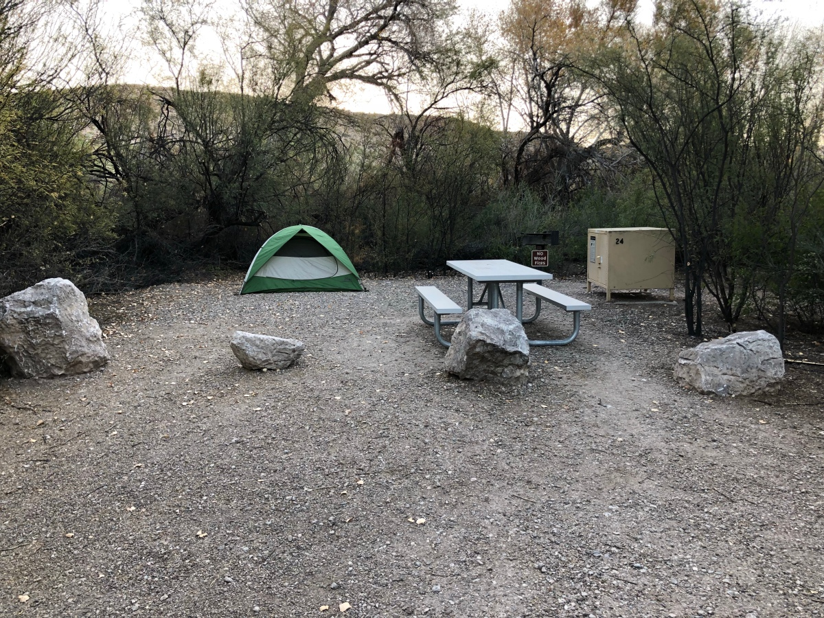 Camping: Rio Grande Village, Big Bend NationalPark