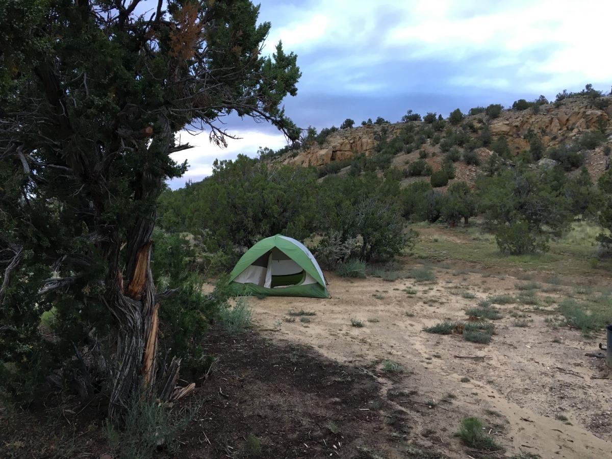 Camping: El Malpais, Joe SkeenCampground