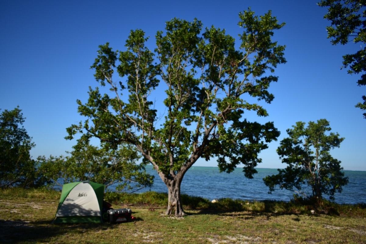 Camping: Elliot Key