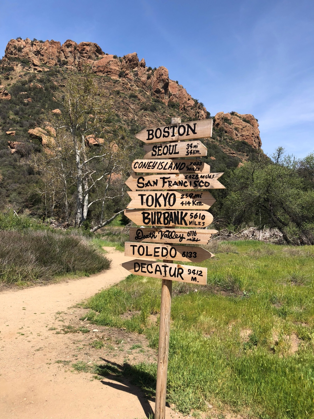 Sunday Hikes:  Hiking to M*A*S*H in Malibu Creek StatePark