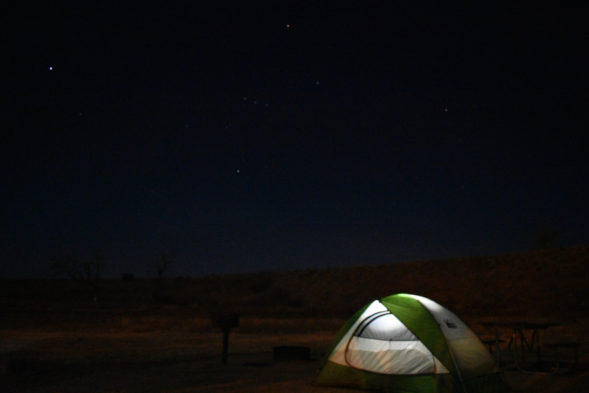 Camping: Lake McClellanCampground