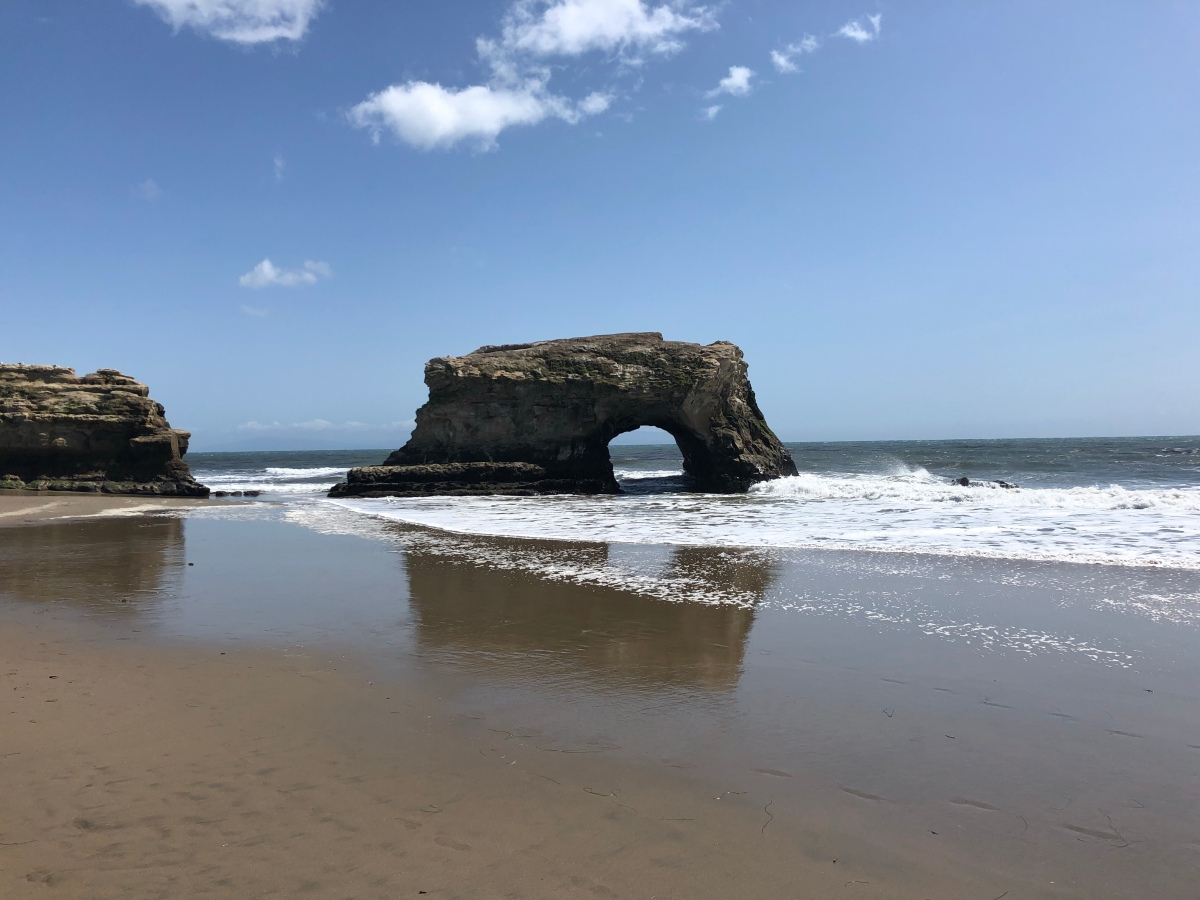 Picture of the Day:  Natural Bridges StateBeach