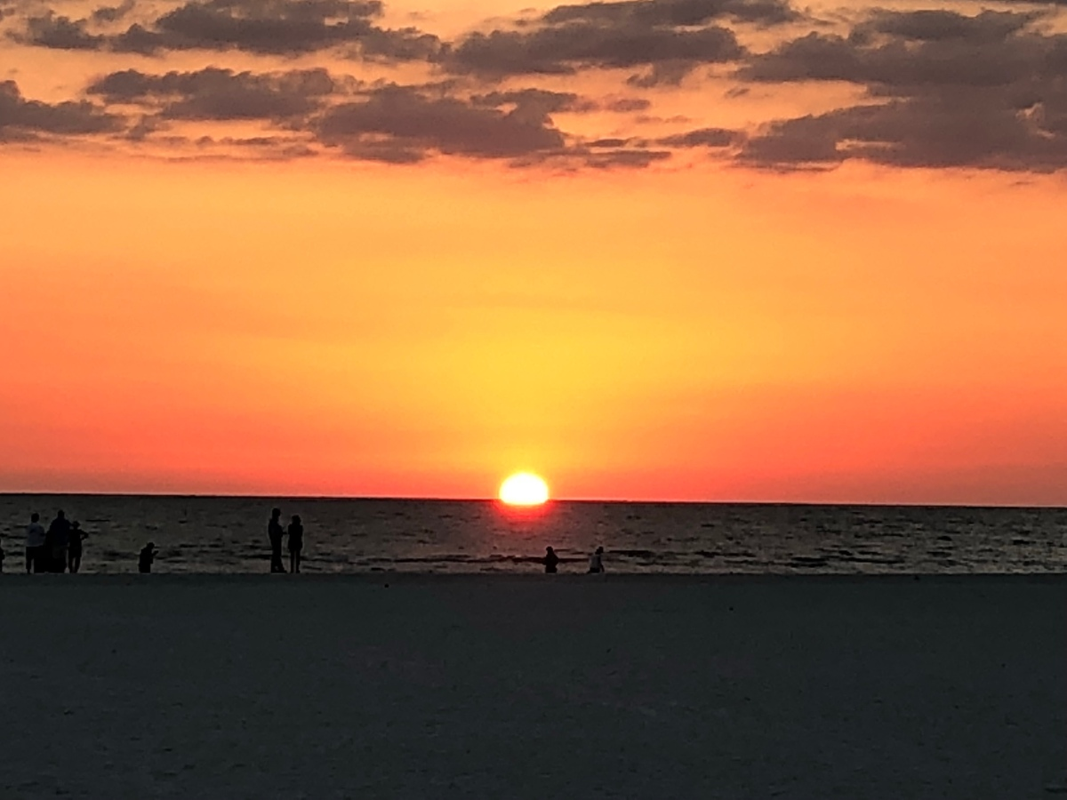Picture of the Day:  Sunset on Marco Island FL