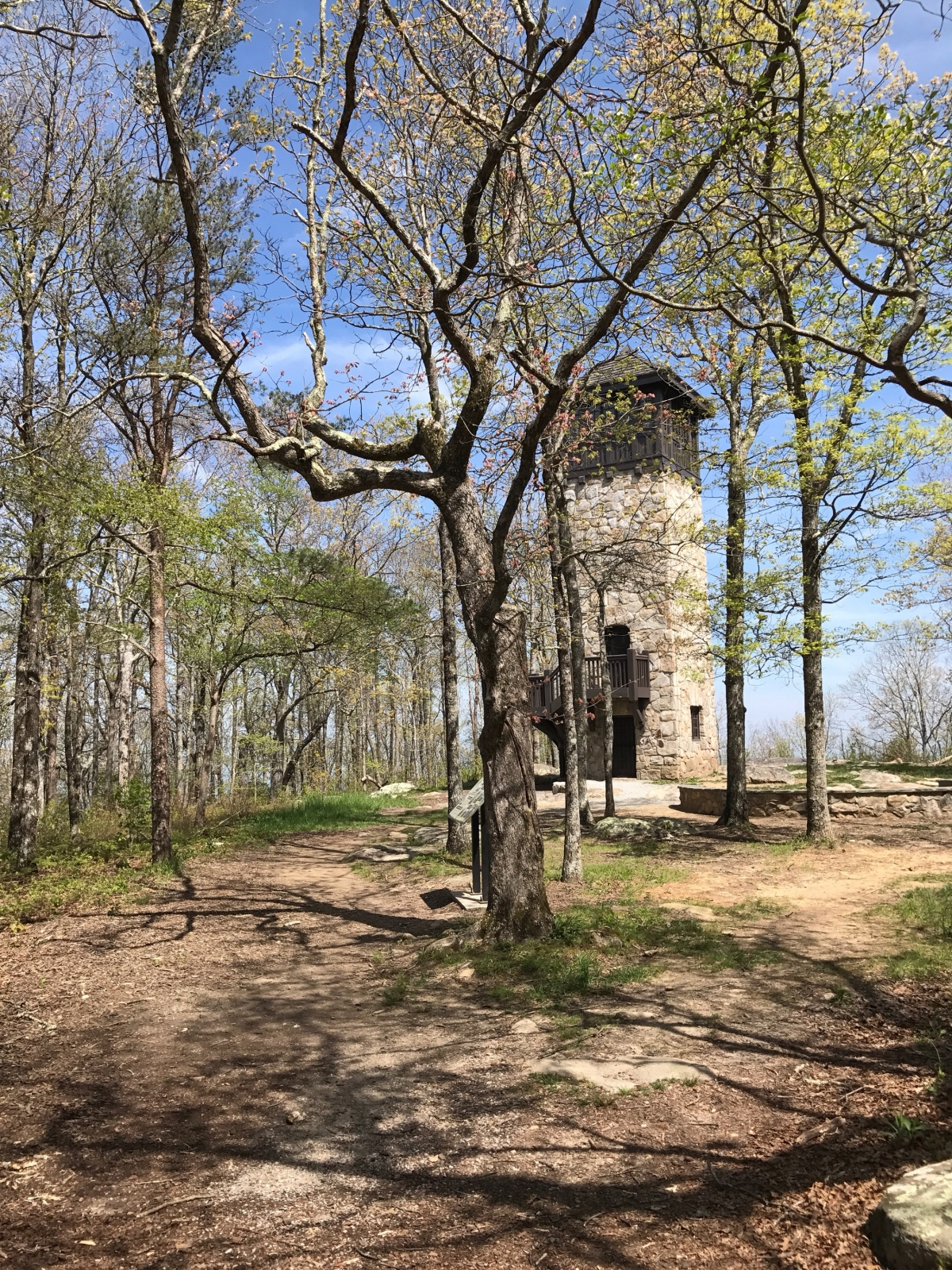 Fort Mountain State Park: FamilyHiking