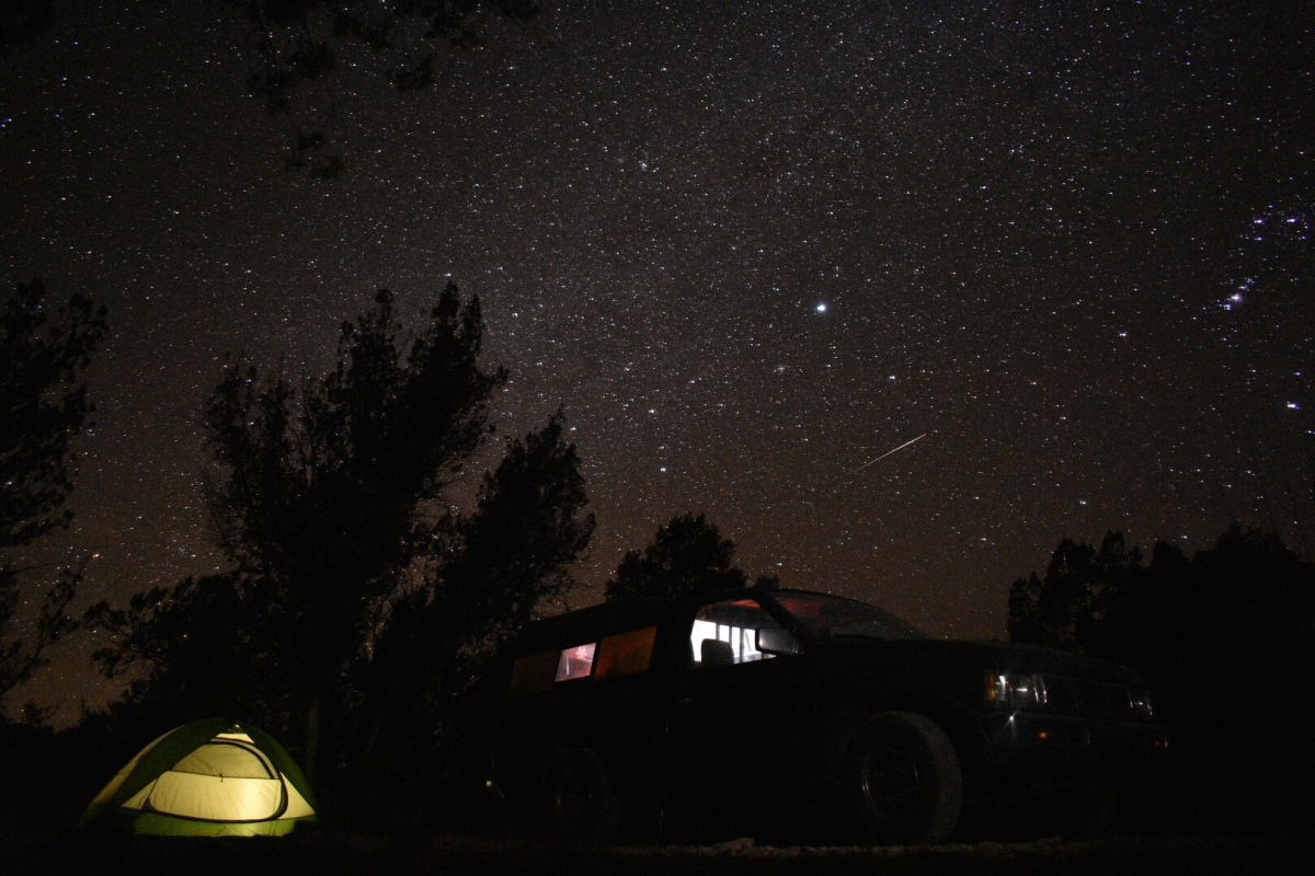 Picture of the Day: Starry Night in the Gila National Forest