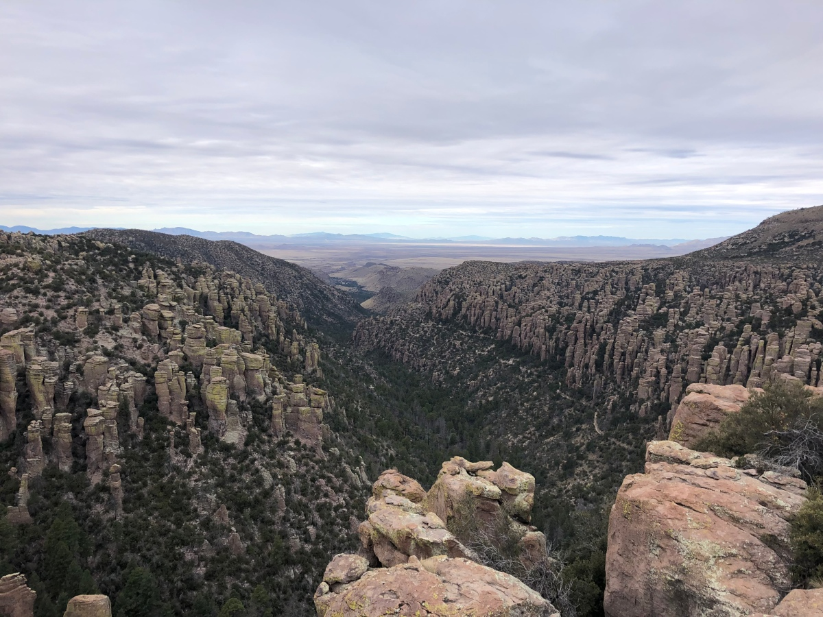 Sunday Hikes:  The Heart of Rocks Loop and other trails at Chiricahua National Monument