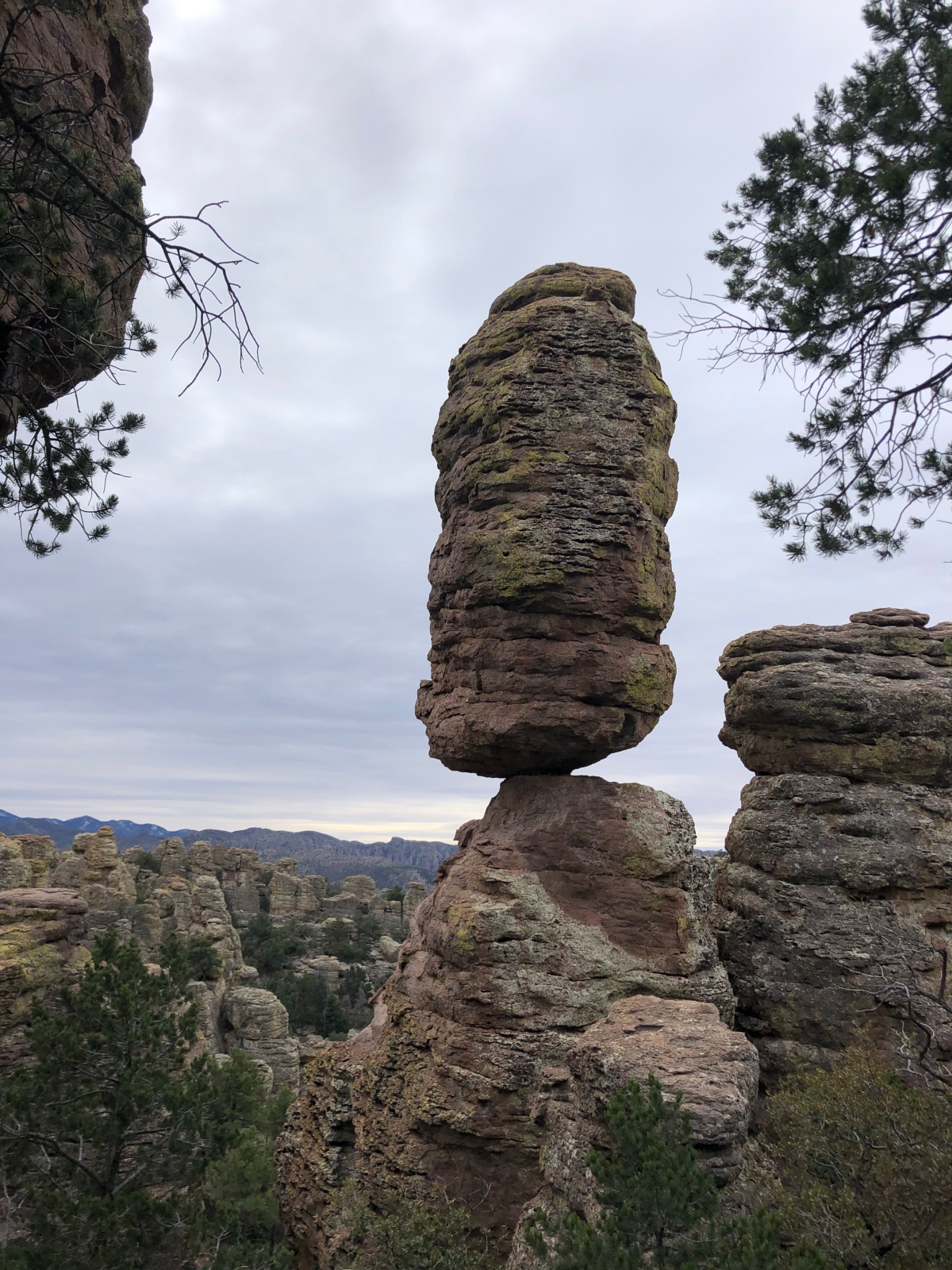 Defying Gravity in Chiricahua National Monument
