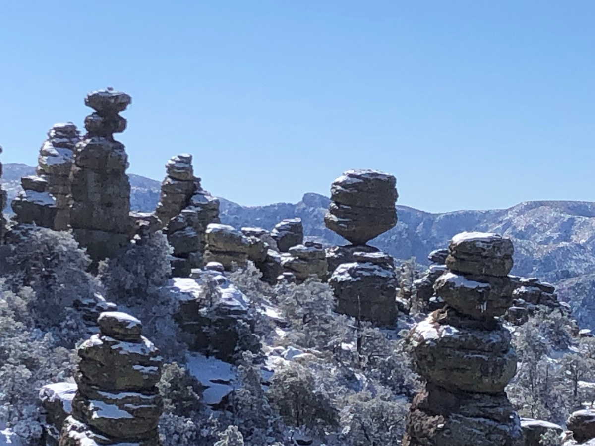 Picture of the Day:  Snowy Chiricahua National Monument